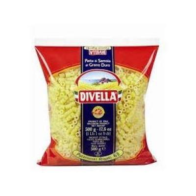 Класичні Divella Paternosti Rigati n.63 0.5 кг