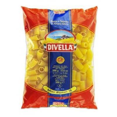 Класичні Divella Mezzi Rigatoni n.18 0.5 кг