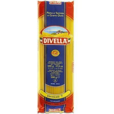 Класичні Divella Vermicelli n.7 0.5 кг