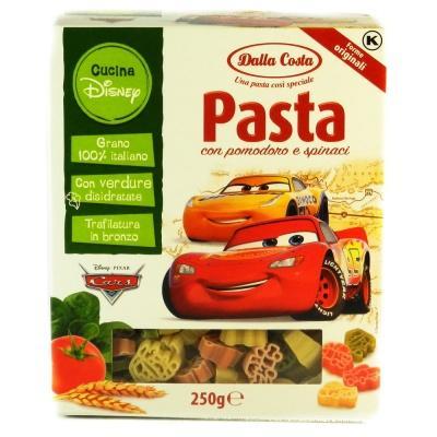 Кольорові Dalla Costa Pasta з помідором і шпинатом 250 г