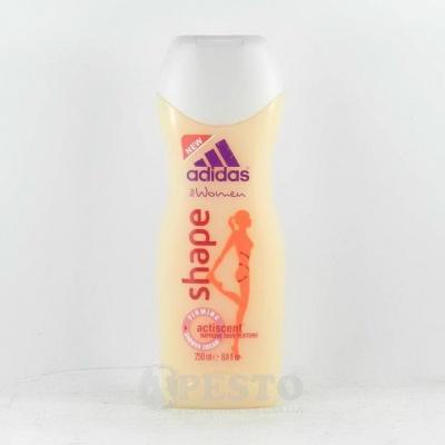 Гель для душу жiночий Adidas Shape 250мл
