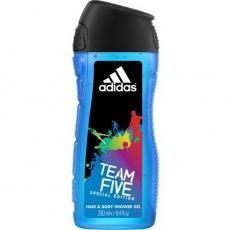 Гель для душу чоловічий Adidas Team Five 250мл