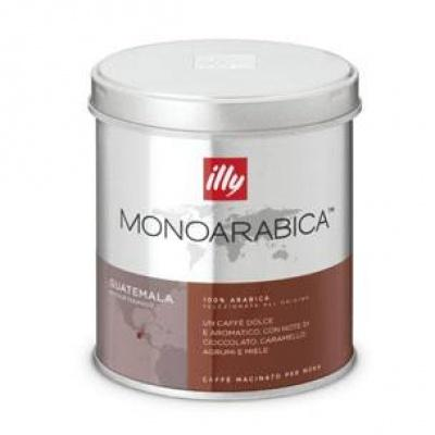 Мелена кава illy monoarabica Guatemala 125 г (ж/б)