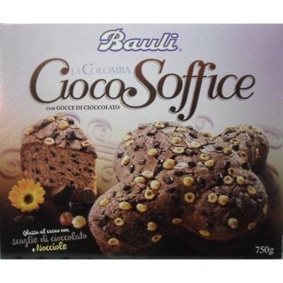 Панеттон Bauli cioco soffice con cocce di cioccolato 0.75 кг