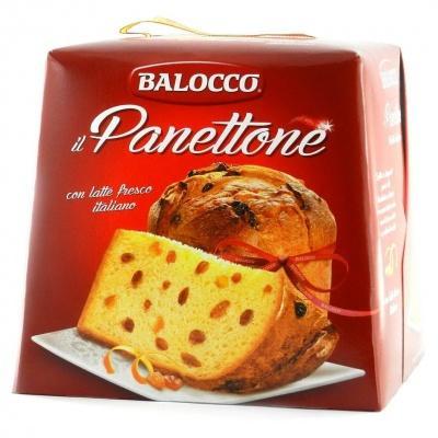 Панеттон Balocco з родзинками та цукатами 0.75 кг
