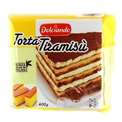 Торт Тирамісу Dolciando dolciando torta tiramisu 400 г