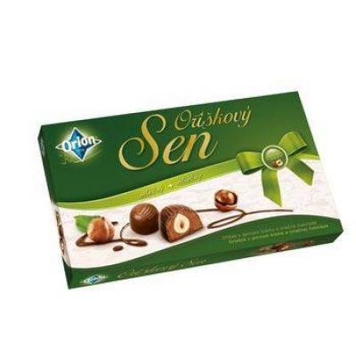 Шоколадні Orion oriskovy Sen 170 г