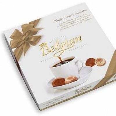 Шоколадні Belgian caffe latte chocolates 200 г