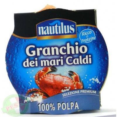 Краб Nautilus granchio dei mari caldi 100% polpa 170 г