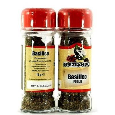 Приправа Speziando Basilico foglie 15g