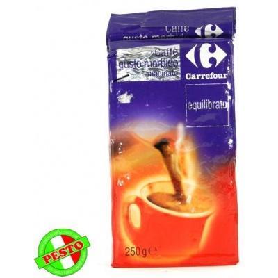 Мелена кава Caffe Gusto morbido equilibrato Carrefour 250 г