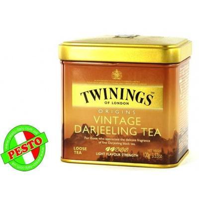 Розсипний TWININGS origins Vintage Darjeeling tea 100 г