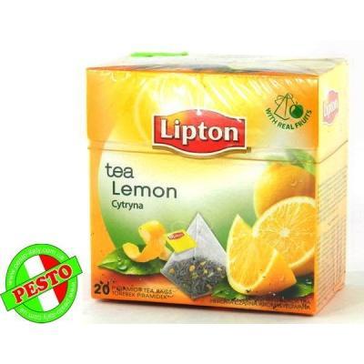 В пірамідках Lipton Lemon Cytryna 20 шт