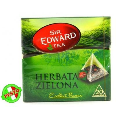 В пірамідках Sir Edward Tea Herbata Zielona 20 шт