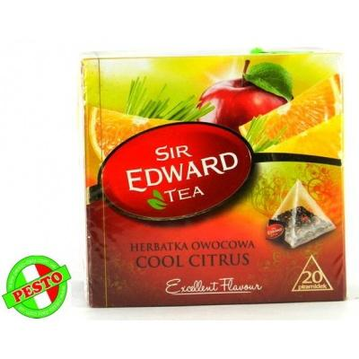 В пірамідках Sir Edward Tea Cool Citrus 20 шт