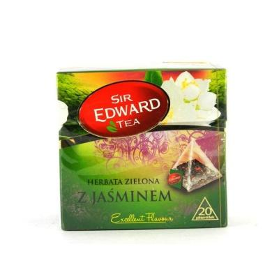 В пірамідках Sir Edward Tea Z Jasminem 20 шт