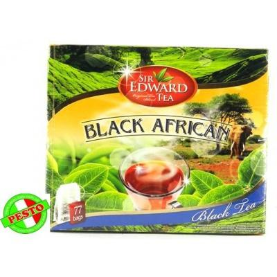 В пакетиках Sir Edward tea Black African 77 шт