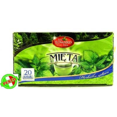 В пакетиках Sir Edward tea Mieta 20 шт
