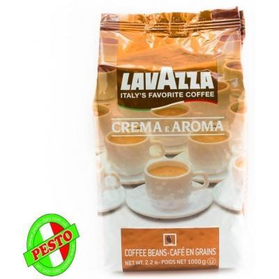 Кава в зернах lavazza crema e aroma 1 кг