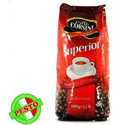 Кава в зернах Caffe Corsini Superior 1 кг