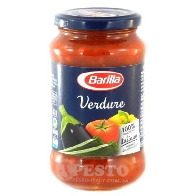 Соуси до макаронів Barilla Verdure 400 г