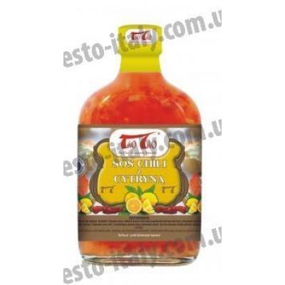 Соуси до макаронів Tao Tao перець чилі з лимоном 250 мл