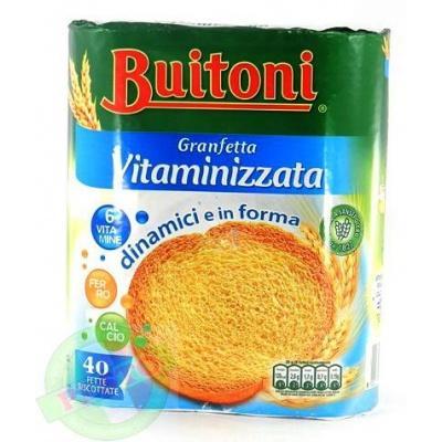 Грінки Buitoni Granfetta Vitaminizzata 40 шт 300 г