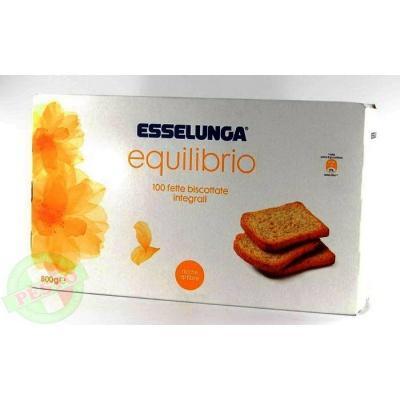 Грінки Esselunga equilibrio 100 шт 0.800 кг