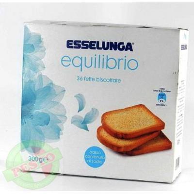 Грінки Esselunga equilibrio 36 шт 300 г