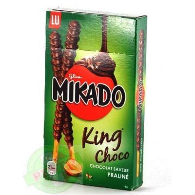 Печиво Mikado king choco praline соломка в шоколаді 51 г