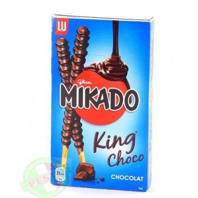 Печиво Mikado king choco chocolat соломка в шоколаді 51 г