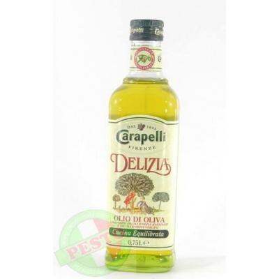 Оливкова Carapelli Delizia extra olio extravergine di oliva 0.75 л