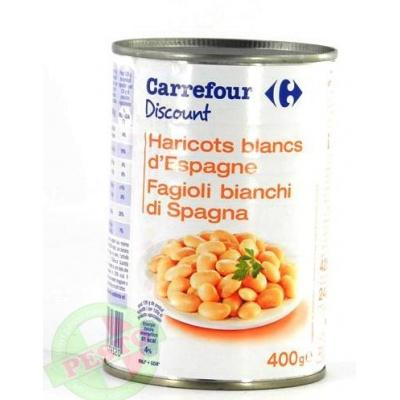Квасоля Carrefour Fagioli bianchi di Spagna 400 г