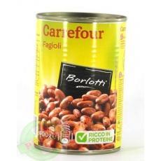 Carrefour Fagioli borlotti 400 г