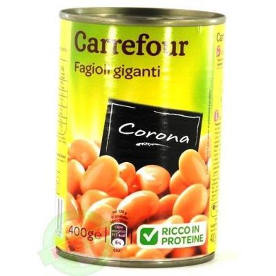 Квасоля Carrefour Fagioli giganti corona 400 г