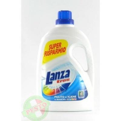 Порошок пральний Lanza tres pulito e igiene su bianchi e colorati 28 прань 1,875L