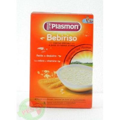 Дитячі Plasmon Bebiriso від 4 місяців 340 г