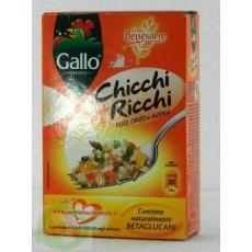 Рис Chicchi Ricchi orzo e avena Gallo 400 г