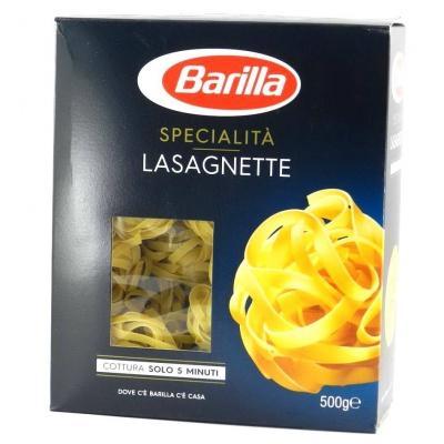 Класичні Barilla specialita Lasagnette 0.5 кг