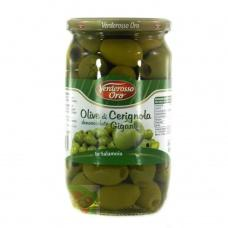 Verderosso Oro olive di Cerignola Giganti без кісточки 0.560 кг