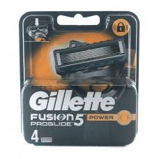 Змінні касети для бриття Gillette Fusion proglide power 4шт