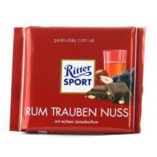Ritter Sport RUM TRAUBEN NUSS 100 г