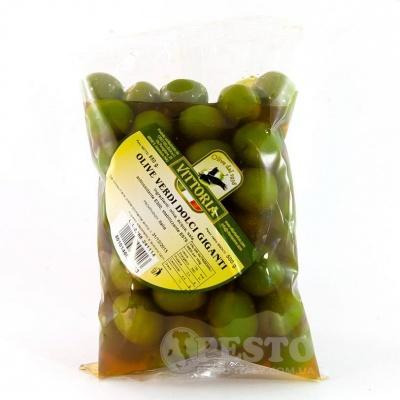 Оливки зелені Vittoria dolci giganty 0,5кг