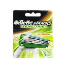 Змінні касети для бриття Gillette Mach3 Sensetive 5шт