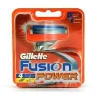 Змінні касети для бриття Gillette Fusion power 4 шт