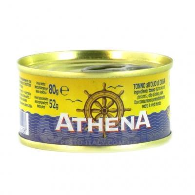 Тунець Athena 80 г (в оливковій олії )