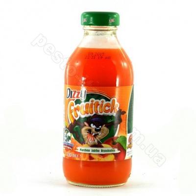 Сік Dizzy fruitick морква яблуко персик 330 мл