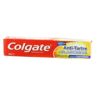 Зубна паста Colgate відбілююча проти зубного каменю 75мл