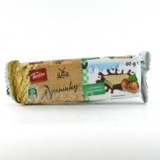 Вафлі Tastino з горіховим кремом 40г