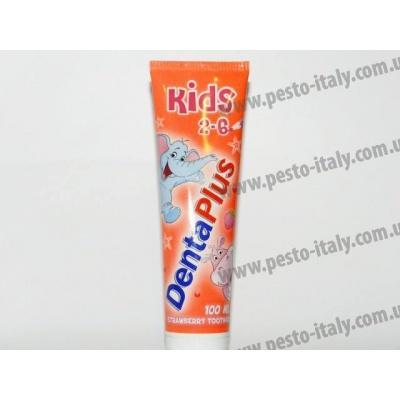 Зубна паста дитяча Denta Plus 2-6 років 100мл